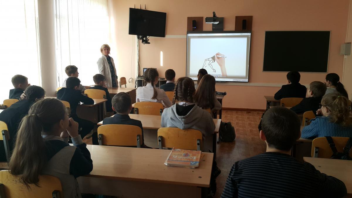 Проведение лекции о проблемах потребления ПАВ с использованием видеоматериалов проекта «Общее дело»